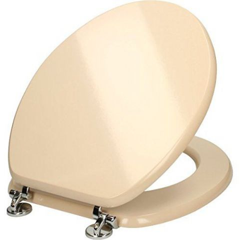 Gloss Cream Toilet Seat